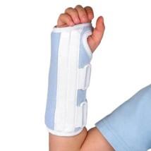 FLA Microban Wrist Splint-Pediatric-RGT-Youth-Blue - $28.70
