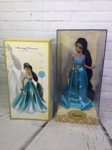 Primary image for Disney Store Aladdin Jasmine Designer Doll 1 Of 6000 Limited Edition LE 2011