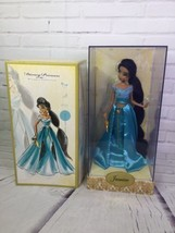 Disney Store Aladdin Jasmine Designer Doll 1 Of 6000 Limited Edition LE 2011 - $231.41
