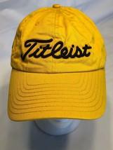 Gold Titleist 3D Black Logo Northeast Gas Markets Baseball Cap Adj Strap... - $14.69