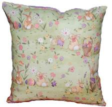 Peter Rabbit Pillow Handmade In USA Easter Pillow - $9.99