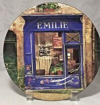 "Sakura table stoneware  8"" licensed plate Chiu Tak Hak  Storefront  Emilie - $5.89"