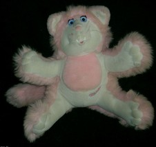 VINTAGE 1987 FISHER PRICE PURR-TENDERS KITTY CAT STUFFED ANIMAL PLUSH TO... - $23.38