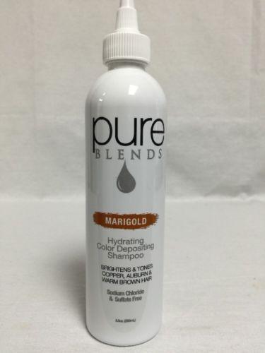 Pure Blends Hydrating Color Depositing Shampoo Marigold 8.5 oz / 250 ml