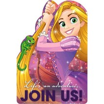 Rapunzel Tangled Dream Big Save The Date Invitations 8 Count Party Supplies New - $4.54
