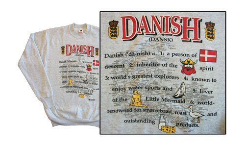 Denmark national definition sweatshirt 10269
