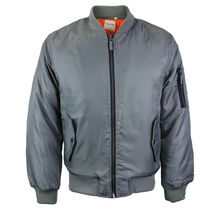 Men's Premium Multi Pocket Water Resistant Padded Zip Up Flight Bomber Jacket image 13