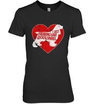 Freaking Love Heart Cocker Spaniel Spirit Animal T Shirt - $19.99