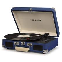 PORTABLE STEREO RECORD PLAYER TURNTABLE IN HAWAIIAN BLUE ELVIS PRESLEY 3 SPEED image 2