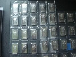 20 x 1oz Sunshine Mint .999 Fine Silver Bullion Bars Sheet Lot of TEN ON... - $774.18
