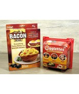 AS SEEN ON TV Lot Egglettes and Perfect Bacon Bowl New in Package Shelf ... - $17.95