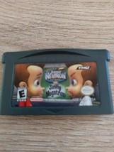 Nintendo Game Boy Advance GBA Nickelodeon Jimmy Neutron vs Jimmy Negatron image 2
