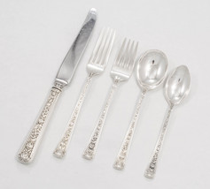Windsor Rose by Watson Sterling Silver 5pc Regular Place Settings, frenc... - $220.00
