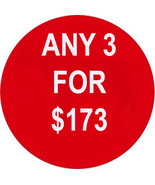 WED-THURS PICK ANY 3 FOR $173 SPECIAL BEST OFFE... - $0.00