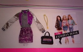 Barbie Style Doll Nikki Jacket Purple Camo Skirt - $10.99