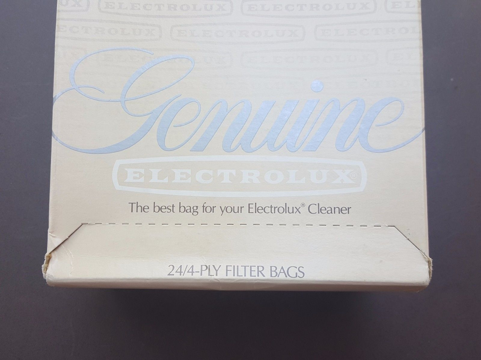 NEW Vintage Box of 24 4-Ply Genuine ELECTROLUX Vacuum Cleaner Filter Bags