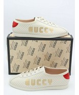 NIB Gucci Womens Falacer Guccy Logo Sneakers Trainers Shoes 10 40  $890 New - $495.00