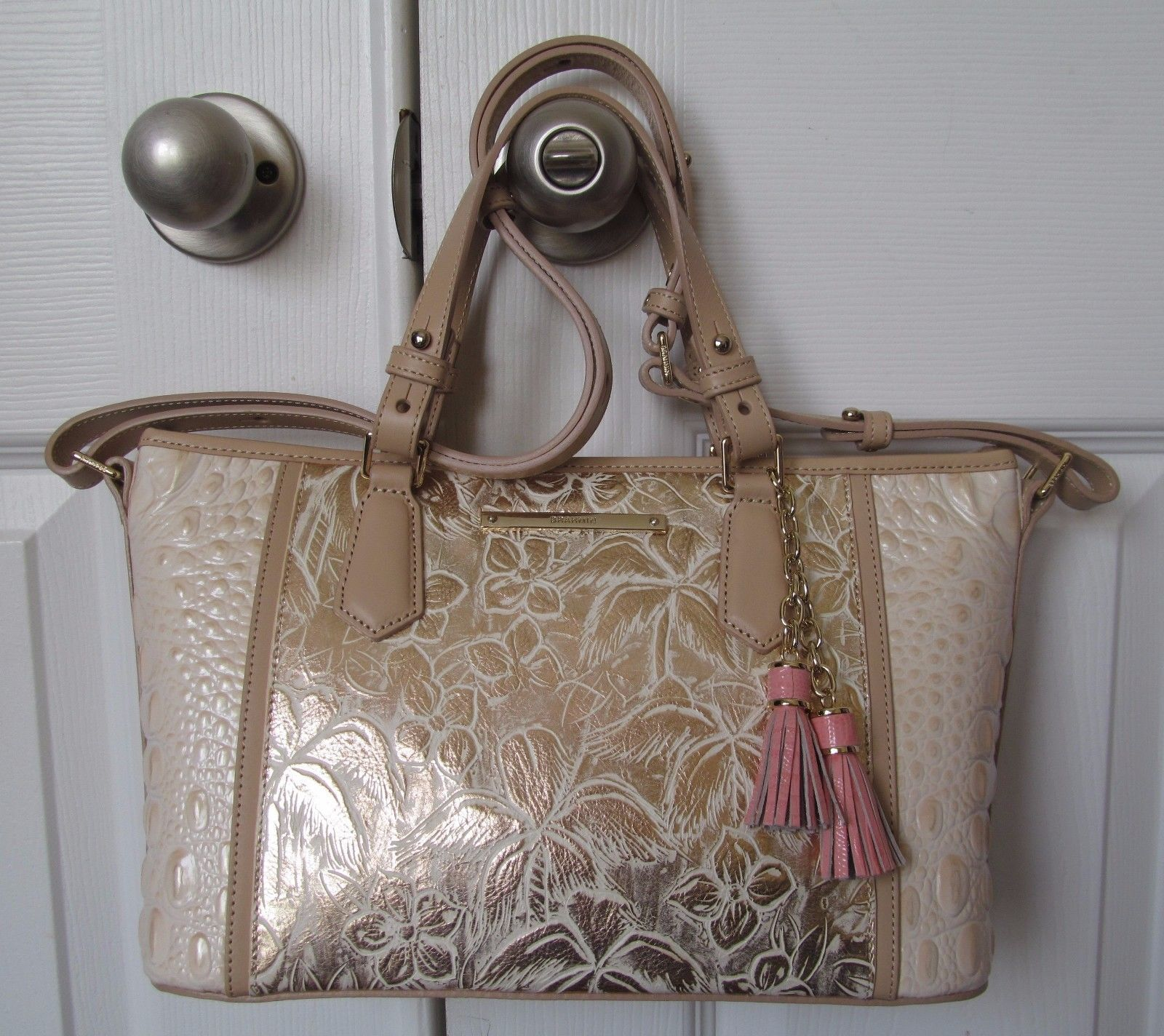 Primary image for BRAHMIN MINI ASHER CREME ESTE Bag