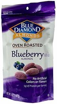 Blue Diamond Oven Roasted Almonds, Blueberry 5 oz Pack of 6 - $48.61