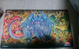 YU-GI-OH! Card Game Playmat Sacred Beasts rubber Case Set KONAMI  From Japan - $78.84