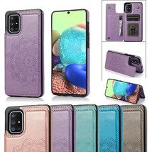 K70) Leather Wallet Flip Magnetic Back Cover Case For Samsung Galaxy - $61.86