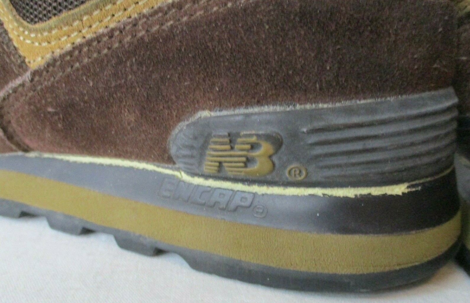 New Balance Men 10 M574BS Encap Sneakers Shoes Chocolate Brown image 6