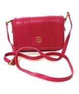 Tory Burch Landon Mini Cross Body Bag Leather Wildflower Pink Handbag - $243.77