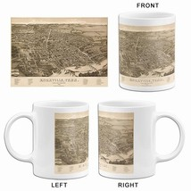 Knoxville knox county tennessee   1886   aerial bird s eye view map poster small mug thumb200