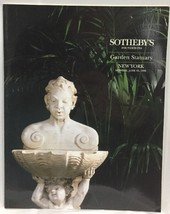 Sothebys New York GARDEN STATUARY Monday June 19 1995 Auction Catalog - $24.18