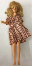"""Ideal Toy Corp. Vintage 1965 Original 12"""" TAMMY DOLL T-12 red block dress - $32.71"""