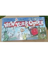NEW YORK-OPOLY Late For The Sky Real Estate Board Game Big Apple New - $59.99