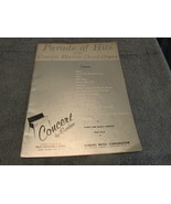 Parade Of Hits For The Electric Chord Organ 1959 Sheet Music - $7.99