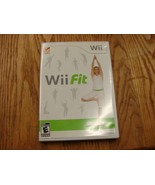 Nintendo Wii FIT Workout Fitness Game, case and documentation - $12.77