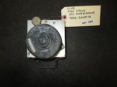 01 02 FORD FOCUS ABS PUMP & MODULE #98AG-2M110-CA *See item description*
