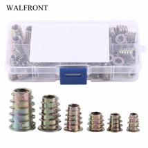 WALFRONT 50pcs Rivnut For Furniture Zinc Alloy Screw-in Type Rivet Nut T... - $19.95