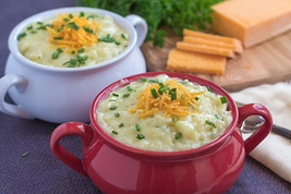 Homestyle potato soup 400x266 thumb200