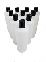 Kelkaa 8oz HDPE Durable Squeezable Plastic Bottles with Black Press Disc... - $26.91