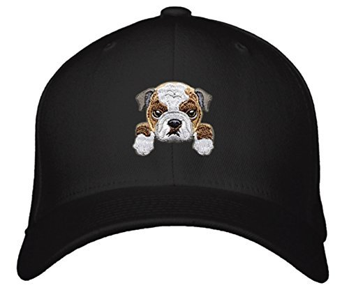 Cute Dog Face Hat - Choose Your Breed! (Bulldog)