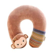 Neck Support Cartoon Pattern Neck Support Students Neck Pillow - $19.47
