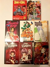 8 manga books - Many VOLUMES. - 7 Different series-Chibi Vampire 1-2, Dr... - $34.76