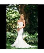 Nicole Miller Dakota Women's Ivory Wedding Dress Bridal Gown Strapless U... - $643.50