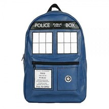 Doctor Who Tardis Faux Leather Backpack - $150.77