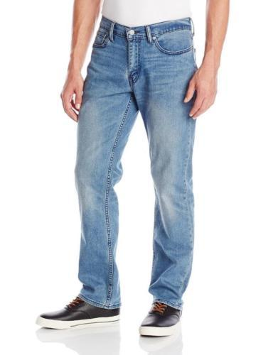 NEW LEVI'S STRAUSS 514 MEN'S PREMIUM STRAIGHT FIT LIGHT DENIM JEANS 514-0670