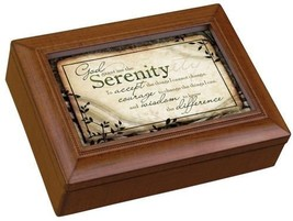 Carson Home Accents 17992 Serenity Prayer Rectangle Music Box, 8-Inch by... - $31.09