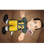 "AARON RODGERS QUARTERBACK NFL GREEN BAY PACKERS New Licensed Plush 15"" S... - $9.99"