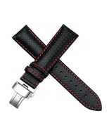 21mm Leather Watch Bands Strap Made For MOVADO SERIES 800 CHRONO 606576,... - $37.39