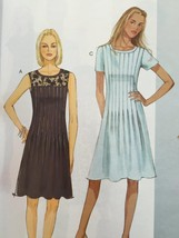 Butterick Sewing Pattern 6281 Misses/Ladies Petite Dress Size 14-22 New - $18.82