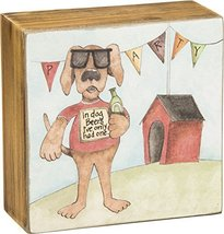 Primitives by Kathy Box Sign, Dog Beers - $7.21
