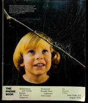 August 1978 Bellefontaine Ohio United Telephone Directory With Yellow Pages - $18.95
