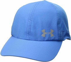 NEW! Under Armour Women Fly By ArmourVent Hat-Blue/Silver 1291073-983 - $51.62